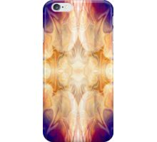 A Burst Of Light Abstract Pattern Artwork iPhone Case/Skin