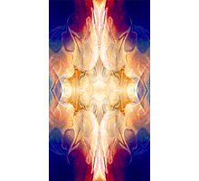 A Burst Of Light Abstract Pattern Artwork Photographic Print