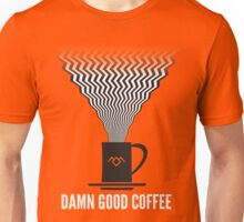 Twin Peaks - Damn Good Coffee Unisex T-Shirt