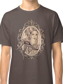 a lady needn't fear things that go bump in the night Classic T-Shirt