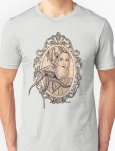 a lady needn't fear things that go bump in the night T-Shirt