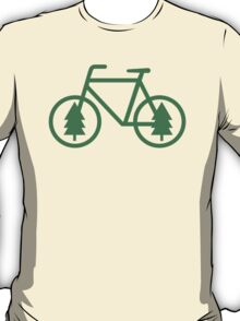 Pacific Northwest Bike - Pine Tree Bicycle - Cycling T-Shirt