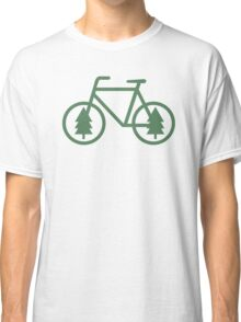 Pacific Northwest Bike - Pine Tree Bicycle - Cycling Classic T-Shirt