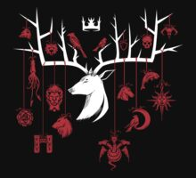 Stag-gered Houses - TF Version | Unisex T-Shirt