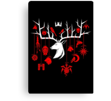Stag-gered Houses - TF Version Canvas Print