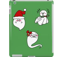 Ghosts of Christmas Laughs iPad Case/Skin