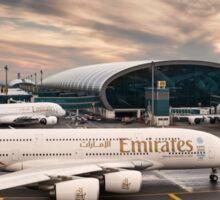 Emirates A380 hangar Sticker