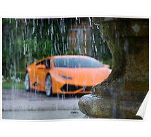 Wet Huracan  Poster