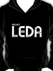 ORPHAN BLACK PROJECT LEDA  T-Shirt