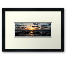 Classic Cable Beach Sunset Framed Print