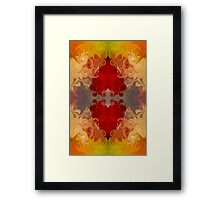 Passionate Explosions of Colorful Reality Framed Print