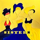 Three Sisters in Yellow by Sarah Curtiss