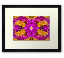 A Spectacular Surprise Abstract Pattern Artwork Framed Print