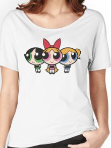 Power Puff Girls - Group Women's Relaxed Fit T-Shirt