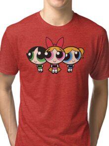 Power Puff Girls - Group Tri-blend T-Shirt
