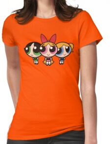 Power Puff Girls - Group Womens Fitted T-Shirt