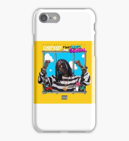 Chief Keef Two Zero One Seven  iPhone Case/Skin