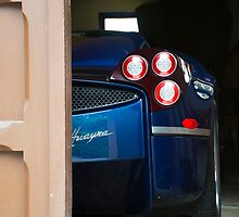 Pagani Tease by Timothy  Iverson Auto Photography