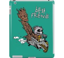 Raccoon and Tree iPad Case/Skin