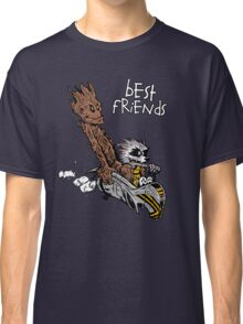 Raccoon and Tree Classic T-Shirt