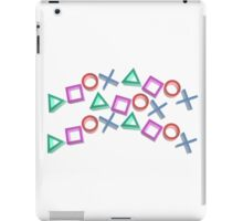 PS4 Controller Buttons iPad Case/Skin