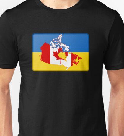 Ukrainian-Canadian Unisex T-Shirt