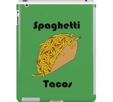 Spaghetti Taco iPad Case/Skin
