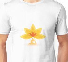 Yoga Lotus Meditation Zen Unisex T-Shirt