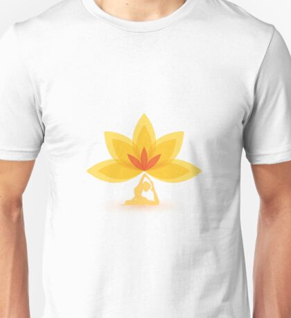 Yoga Lotus Meditation Zen Unisex T-Shirt
