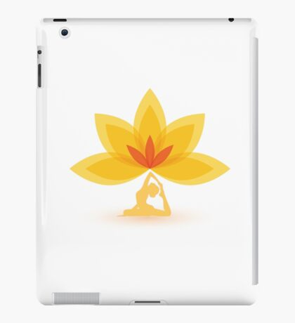 Yoga Lotus Meditation Zen iPad Case/Skin