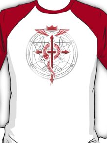 Full of Alchemy - Fullmetal Alchemist Flamel T-Shirt