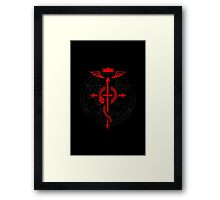 Full of Alchemy - Fullmetal Alchemist Flamel Framed Print