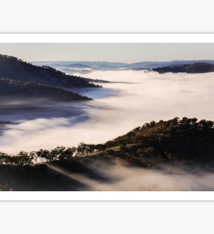 Winter Fog - Merlins Lookout Sticker