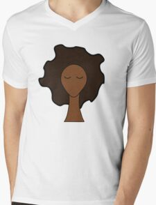 Natural Beauty Mens V-Neck T-Shirt