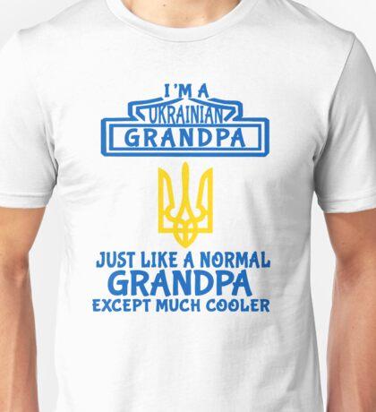 Ukrainian Grandpa Unisex T-Shirt