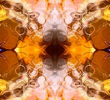 Exploding Ideas Abstract Pattern Artwork by owfotografik