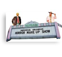 Universal Studios Orlando Horror Makeup Show Canvas Print