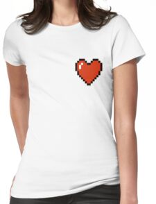 Pixel Pocket Luv Womens Fitted T-Shirt