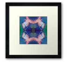 Merging Fantasies Abstract Pattern Artwork Framed Print