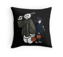 Big Slasher Six Throw Pillow