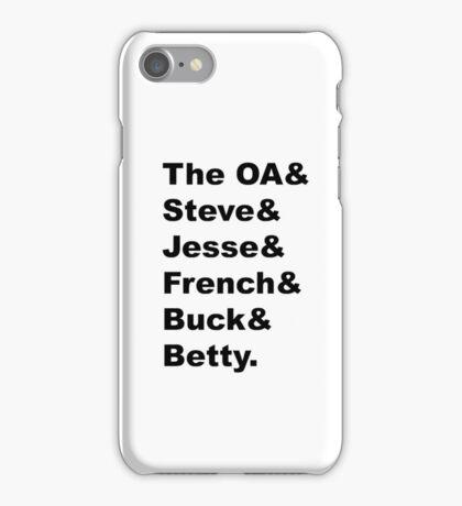 The OA - Five iPhone Case/Skin