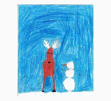 Reindeer & Snowman Unisex T-Shirt