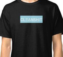 CLΞΔNSHiT BOX LOGO Classic T-Shirt