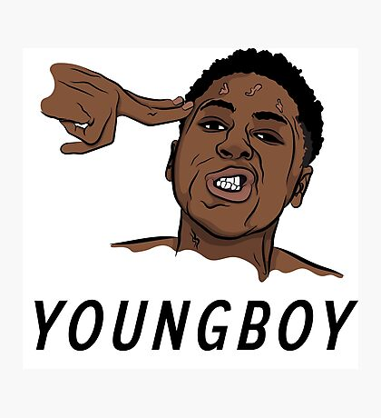 "NBA Youngboy ""Free 38 Baby"" Photographic Print"