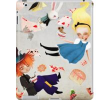 Alice and the hatter iPad Case/Skin
