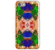 Merging Consciousness With Abstract Artwork iPhone Case/Skin