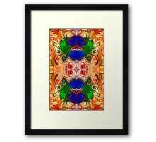 Merging Consciousness With Abstract Artwork Framed Print