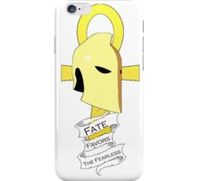 Dr. Fate Favors the Fearless Shirt iPhone Case/Skin