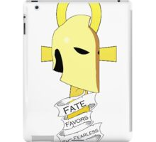 Dr. Fate Favors the Fearless Shirt iPad Case/Skin