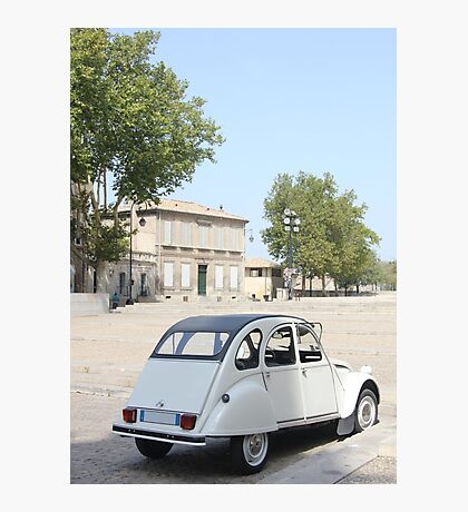 Vintage French car by ProvenceProvence Photographic Print